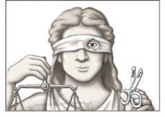 Вестник слепой фемиды
